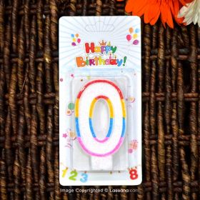 0 Letter Candles