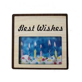 Best Wishes Photo Frame