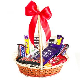 Chocolate Basket for Gifts
