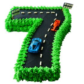 Race Track Number Cake(1-9)