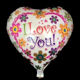 I Love You Foil Balloon 1