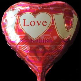 I Love You Foil Balloon 3