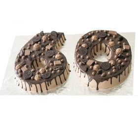 Number Cake With Chocolates
