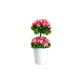 Red Vase Arrangement-Artificial